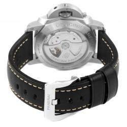 Panerai Black Stainless Steel Luminor 1950 Marina PAM00312 Men's Wristwatch 44 MM