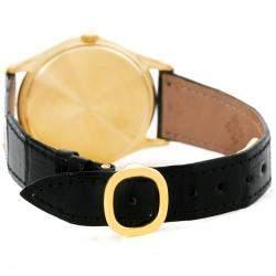 Patek Philippe Matte Silver 18K Yellow Gold Perpetual Calendar Men's Wristwatch 36MM