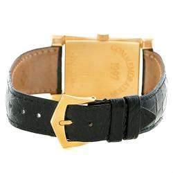 Patek Philippe Champagne 18K Yellow Gold Pagoda Men's Wristwatch 26MM