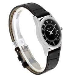 Patek Philippe Black 18K White Gold Calatrava Automatic 5000 Men's Wristwatch 33 MM
