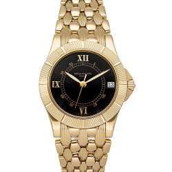 Patek Philippe Black 18K Yellow Gold Neptune 5081/001 Men's Wristwatch 36 MM