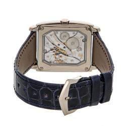 Patek Philippe Blue 18K White Gold Gondolo 5124G-011 Men's Wristwatch 43 x 33.5 MM