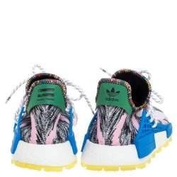 Pharrell Williams x Adidas Multicolor Fabric Solar HU NMD Solar Pack - M0TH3R Sneakers Size 45 1/3