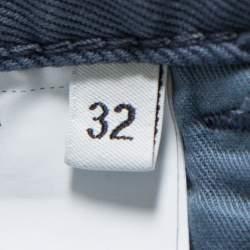 Prada Grey Twill Drill Trousers M