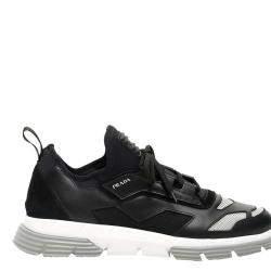 Prada Black Twist Sneakers Size UK 11 EU 45