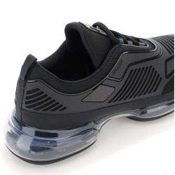 Prada Black Cloudbust Air Technical Fabric Sneakers Size EU 43 US 9