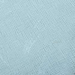 Prada Blue Saffiano Lux Leather Bifold Wallet