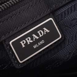 Prada Black Nylon Briefcase