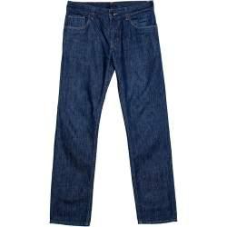 Prada Indigo Denim Straight Fit Jeans S