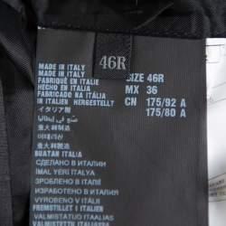 Prada Dark Grey Wool Tailored Suit S