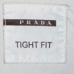 Prada Navy Blue Denim Tight Fit Jeans L