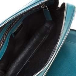 Prada Green Leather Travel Organizer