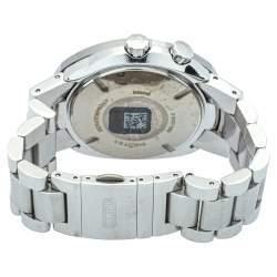 Rado Black Tungsten Carbide & Stainless Steel Diastar 658.0639.3 Men's Wristwatch 42mm
