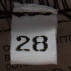 بنطلون راف باي راف سايمونز أرجل واسعة بطيات دنيم أسود مقاس صغير جداً (اكس سمول)