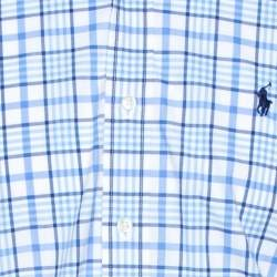 Ralph Lauren Bicolor Checked Cotton Button Down Shirt M