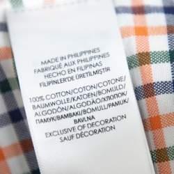 Ralph Lauren Multicolor Plaided Cotton Button Front Shirt XL