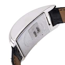 Roberto Cavalli Black Stainless Steel and Leather ESON R7251955035 Men's Wristwatch 30 mm
