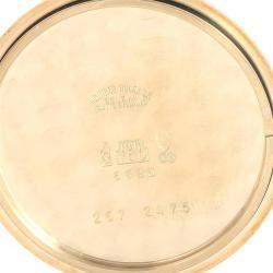 Rolex White 18k Yellow Gold Cellini 6623 Men's Wristwatch 37.5 MM
