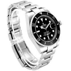 Rolex Black Stainless Steel Submariner 116610 Men's Wristwatch 40 MM