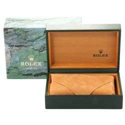 Rolex Silver Tapestry Stainless Steel Datejust 16200 Men's Wristwatch 36 MM