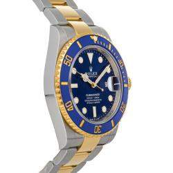 Rolex Blue 18K Yellow Gold And Stainless Steel Submariner Date 126613LB Men's Wristwatch 41 MM