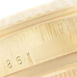 Rolex Champagne 18K Yellow Gold President Day-Date 18038 Men's Wristwatch 36 MM
