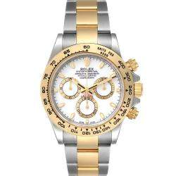 Rolex White 18K Yellow Gold And Stainless Steel Cosmograph Daytona 116503 Men's Wristwatch 40 MM