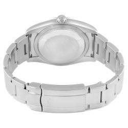 Rolex Silver Stainless Steel Oyster Perpetual 116000 Men's Wristwatch 36 MM
