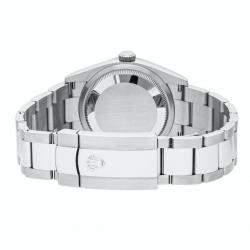Rolex Grey Stainless Steel Datejust 126234 Men's Wristwatch 36 MM
