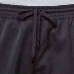 Saint Laurent Paris Black Wool Joggers M
