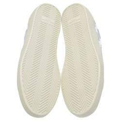 Saint Laurent Paris Court Classic SL/06 Metallic California Sneakers Size EU 40.5