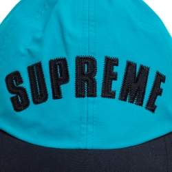 Supreme X The North Face Teal Arc Logo 6 Panel Hat