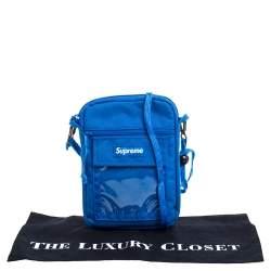 Supreme Blue Nylon Utility Bag