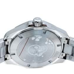 Tag Heuer Black/Red Stainless Steel Aquaracer WAY101B.BA0746 Men's Wristwatch 43 mm