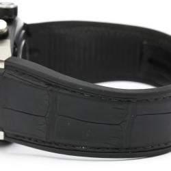 Tag Heuer Black Ceramic Carrera Automatic CAR5A8Y Men's Wristwatch 45 MM