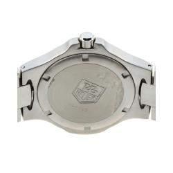 Tag Heuer White Stainless Steel Kirium WL1110 Men's Wristwatch 41 MM