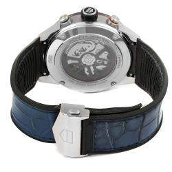 Tag Heuer Blue Stainless Steel Carrera CBG2A1Z Men's Wristwatch 45 MM