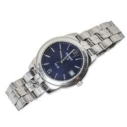 Tissot Blue Stainless Steel PR 50 Men's Wristwatch 36 mm