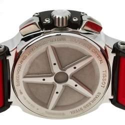 Tissot Black PVD Stainless Steel T-Race T048417A Men's Wristwatch 45 mm
