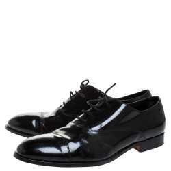 Tod's Black Leather Lace Up Oxford Size 45