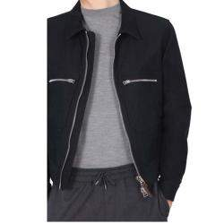 Tom Ford Blue Jacket With Zip size IT 52