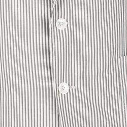 Tom Ford Brown and White Striped Cotton Basic Base Blazer XL