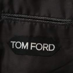 Tom Ford Charcoal Grey Wool Two Buttoned Suit M