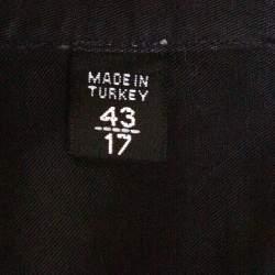 Tom Ford Black Washed Linen & Cotton Long Sleeve Shirt XXL