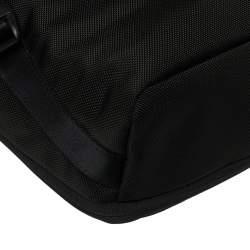 Tumi Black Nylon Alpha Flap Laptop Bag
