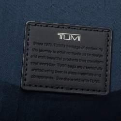 Tumi Brown/Black Leather Barton Crossbody Bag