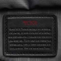 Tumi Blue Nylon And Leather Utility Tote