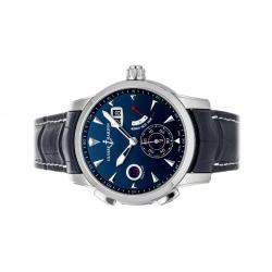 Ulysse Nardin Blue Stainless Steel Moncao Limited Edition 3243-132LE/93-MON Men's Wristwatch 42 MM