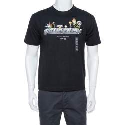 Uniqlo T Murakami X Billie Eilish Black Cotton Short Sleeve T-Shirt XS