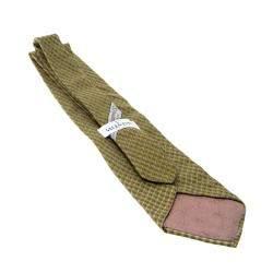Valentino Vintage Multicolor Printed Silk Traditional Tie